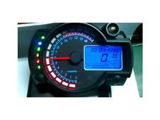 STRUMENTAZIONE MOTO UNIVERSALE DISPLAY 7 COLORI MAX 299 KM NUOVO CONTA KILOMETRI