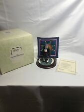 "Willitts Amish Heritage Collection ""Winter Fun"" Figurine with Quilt 30023 Box"