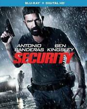 Security NEW Bluray disc/case/cover only-no digital 2017 Banderas Kingsley