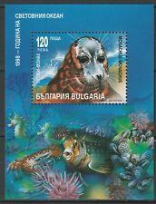 Bulgaria 1998 Fauna Animals Marine Life MNH Block