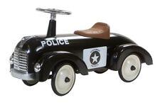 Retro Roller Rutscher Speedster Bobby Polizeiauto schwarz 0706116