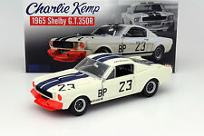 GMP ACME 1:18 65 FORD SHELBY EXCLUSIVE MUSTANG GT350 R #23 CHARLIE KEMP LTD 123
