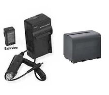 Battery + Charger for Canon XF100 XF105 XF300 XF305