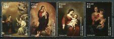 Palau 2015 art paintings christmas Murillo  set  MNH