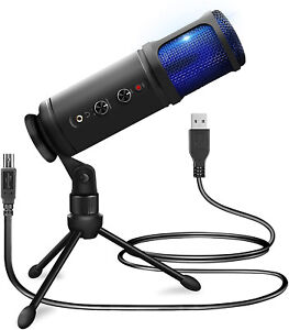 "POWER DYNAMICS ""PCM120"" USB Streaming Studio Mikrofon! DAS Mikro für Streamer!"