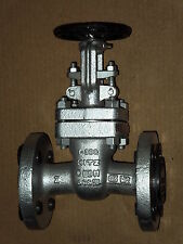 "1"" KITZ #300UMAM STAINLESS STEEL CLASS 300 FLANGED GATE VALVE *Refurbished*"