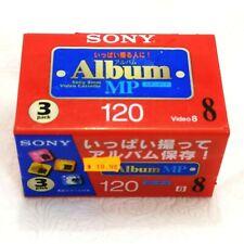 Sony Hi8 120 Min Hi / Digital 8 Video Camcorder 8mm Metal Tapes