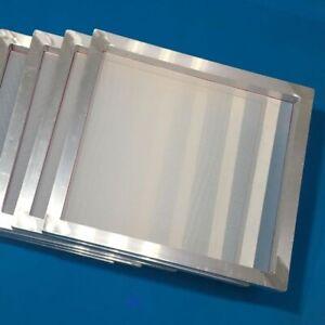 "6 Pack 20""x24"" Aluminum Frame Silk Screen Printing Screens with 160 Mesh"