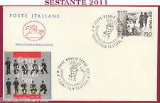 ITALIA FDC CAVALLINO CHARLES CHAPLIN FUNNY FILM FESTA UNITà 1989 BOARIO BS U270