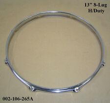 """13 """" 8-lug TRIPLE FLANGIATO H / D a Cerchio / Anello / RIM per Tom Toms, TAMBURI 002-106-265a"""