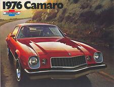 1976 Chevrolet Camaro Brochure Type LT/ Rally Sport/++
