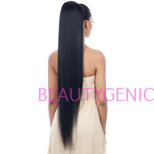 SNG Freetress Equal Synthetic Drawstring Ponytail Long Straight Yaky 38 Inches