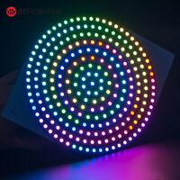 37/93/241 Pixels WS2812B RGB 5050 Flexible LED Panel Addressable IC Board DC 5V