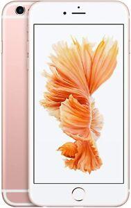 Apple iPhone 6s Plus 32GB 2GB RAM Rose Gold Unlocked A1687 CDMA + GSM