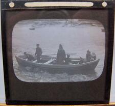 Magic Lantern Slide - Ship Shipping Boats
