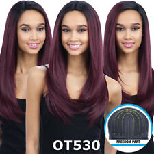 FREEDOM PART 201 - FREETRESS EQUAL SYNTHETIC LACE FRONT LONG STRAIGHT HAIR WIG