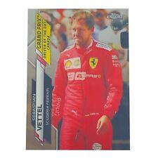 2020-21 Topps Chrome Formula 1 F1 Sebastian Vettel #160 GP DOTD Canada
