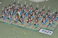 25mm 19th century / mexican american - mexican inf 30 figs metal - inf (9287)