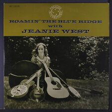 JEANIE WEST: Roamin' The Blue Ridge LP (Mono, light foxing obc) Folk