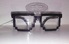 1 pair black nerd novelty glasses sunglasses  costume digi video game