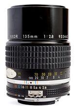 Nikon Ai-s Nikkor 135mm f/2.8 Lens