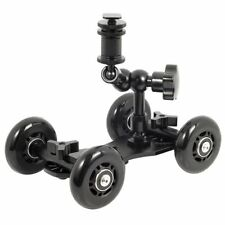 UK store! CameraPlus®  Flex Skater Dolly (Black) + 7'' Magic Arm Slider Track