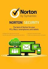 New Norton (Internet) Security Deluxe 2017 2018: 5 PCs / Macs / Devices: 1 Year