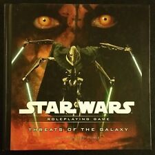 Star Wars Roleplaying Game 2008 THREATS OF THE GALAXY D20 WTC21624720 HC RPG NEW