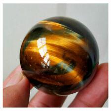 Natural Yellow Asian Rare Tiger Eye Quartz Crystal Healing Ball Sphere 20-22mm