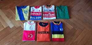 Seven Vintage cycling jersey wool maglia ciclismo Tour de France