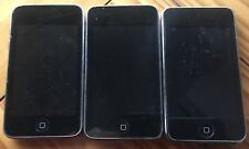 Lot Of 3 Apple iPod Touch 2nd 3rd A1288 A1318 For Parts Repair