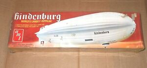 AMT HINDENBURG WORLD'S LARGEST ZEPPLIN! MODEL KIT #T557