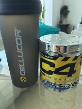 CELLUCOR C4 30 & 60 servings c4 new flavors + Free Shaker cup