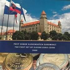 Slowakije set 2009 / 1 cent - 2 euro KMS