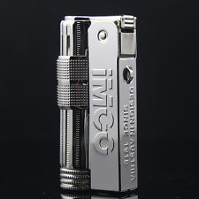 Original Genuine Austria IMCO6700 Kerosene Lighter Stainless Steel Rare