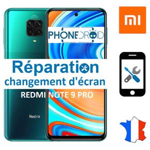 Changement écran Redmi Note 9 Pro, Réparation en France