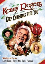 KENNY ROGERS CHRISTMAS SPECIAL KEEP CHRISTMAS WITH YOU New Sealed DVD