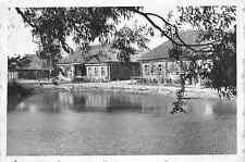 Kleine Bauernhäuser Dorf bei Wilna Litauen Ostfront