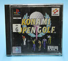 KONAMI OPEN GOLF PS1 🔮AUSSIE SELLER🔮 (PLAYSTATION ONE) NO FRONT COVER ART !!!