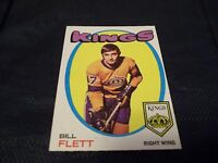 1971-72 OPC O-Pee-Chee #47 Bill Flett Kings - exmt
