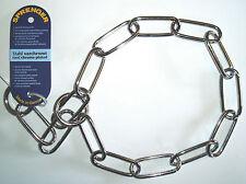 Dog Chain Sprenger Check Collar Fur Saver Choker Steel Chrome Plated 4mm 72cm