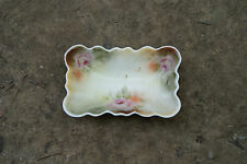 Old Vintage Antique China Dinnerware Celery Tray Trinket Candy Nut Dish Flowers