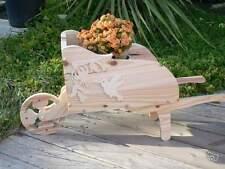 Petite brouette en bois pour décoration décor Colibri idéal fête des mères