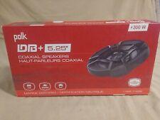 New listing Polk Audio 5.25 Inch 300 Watt 2 Way Car/Marine Atv Stereo Speakers, Pair | Db522