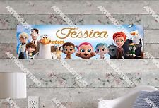 Personalized/Customized Storks Movie Name Poster Wall Art Decoration Banner