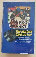 NEW Factory Sealed 1990-91 NHL Pro Set Series 1 I One Hockey Wax Box 36 Packs