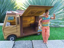 👻 Ancien Véhicule Camping Car Big Jim Sports Camper Mattel 1971 Vintage
