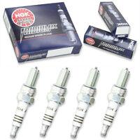 4pcs 99-07 Suzuki GSX1300R Hayabusa NGK Iridium IX Spark Plugs 1298cc 79ci ju