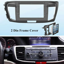 10.1'Car Stereo Radio Fascia Dash Frame Panel Cover Trims Fit For Honda Accord