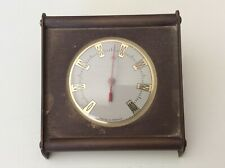 New listing Vintage Made in France Brass Weather Thermometer Desk Table Top French Works *